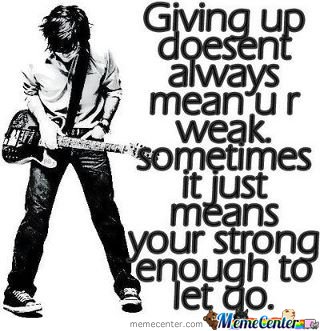 Give Up...