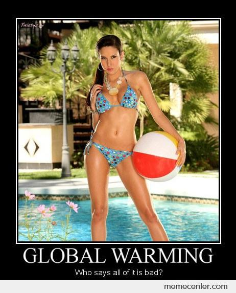 Global Warming, It's Not All Bad...