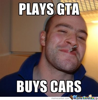 Good Guy Greg Plays Gta