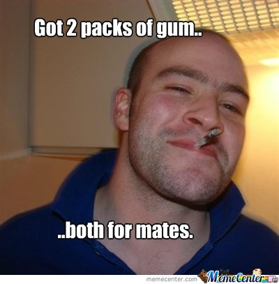 Good guy got gums