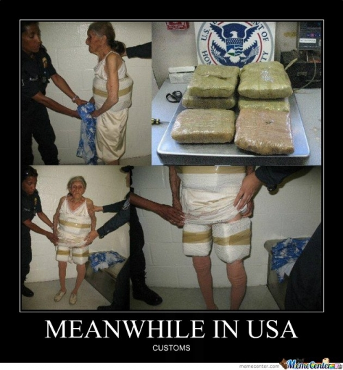 Granny Trafficking Drugs