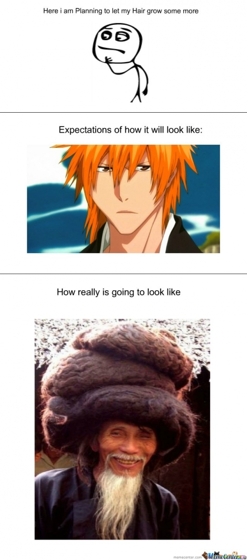 Hair Expectations