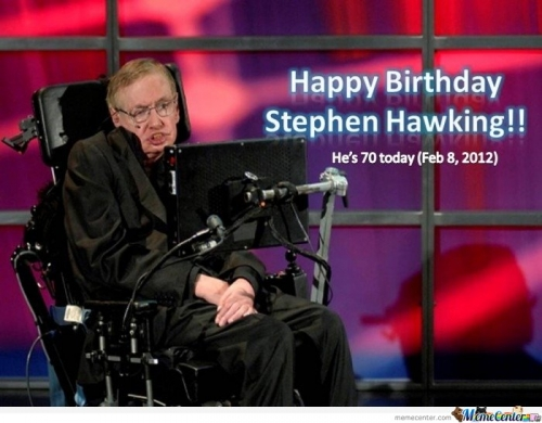 Happy Birthday Stephen Hawking!