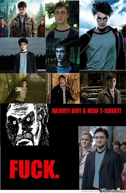 Harry Buy A New T-Shirt