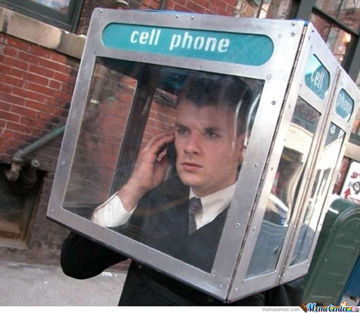 Hipster cell phone