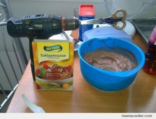Home Made Mixer