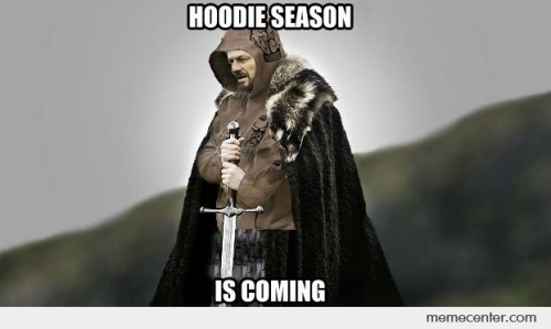 Hoodie Season is Coming