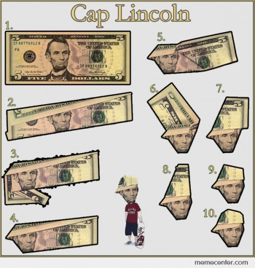 How To Bro Cap Lincoln
