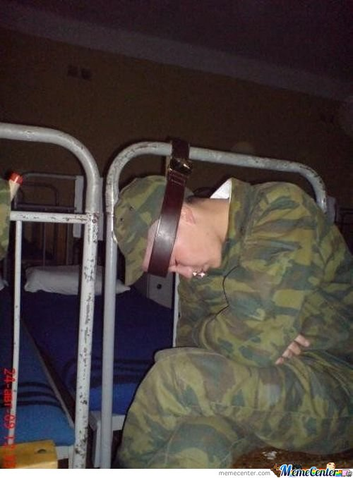How To Sleep In The Army (You Are The Creator Bro)