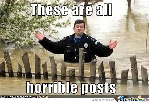 How i feel about most posts