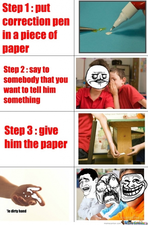 How to troll in class
