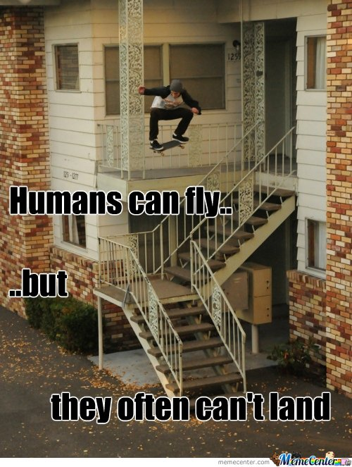 Humans can fly