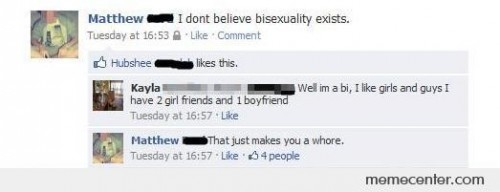 I Don't Believe Bisexuality Exists