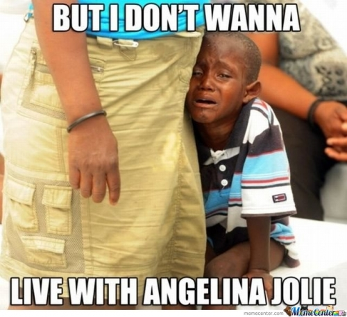 I Don't Wanna Live With Angelina Jolie