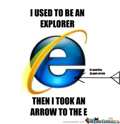 I Used To Be An Explorer