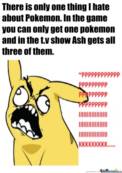 One thing I hate about Pokemon