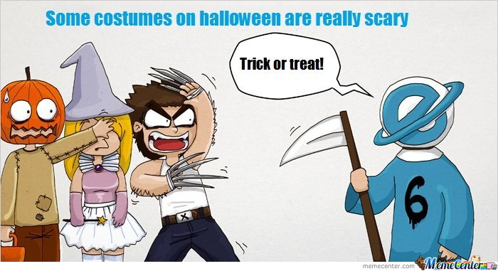 IE - Trick Or Treat