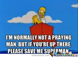 I'M NORMALLY NOT A PRAYING MAN