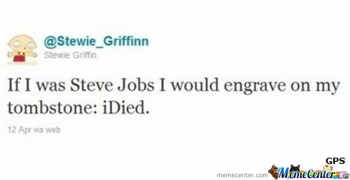 If I was Steve Jobs..
