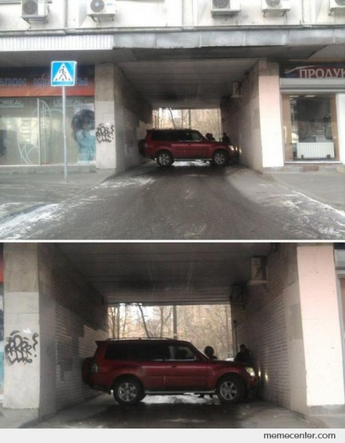 Impossible Parking