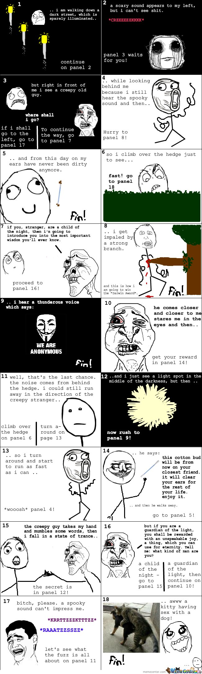 Interactive Rage Comic!