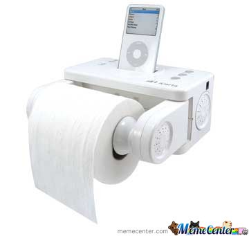 Ipod Spekars for WC