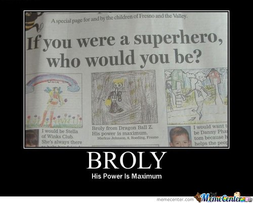 Isn't Broly a Villain?