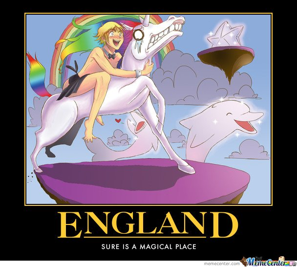 England , Sure Is A Magical Place