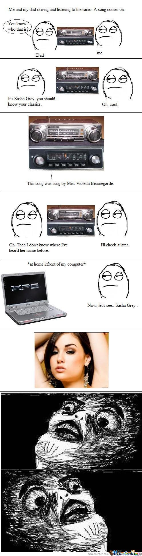 It's Sasha Grey. You should know your classics