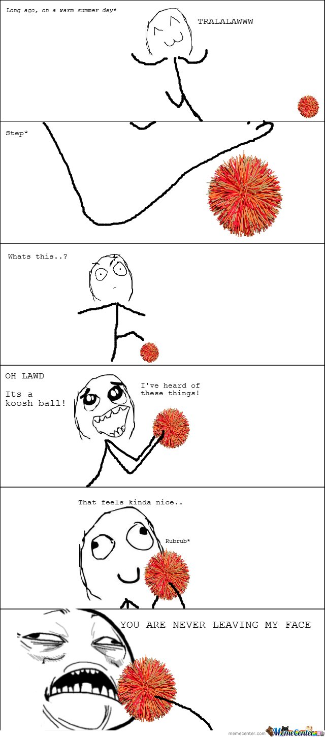 Its a koosh ball!