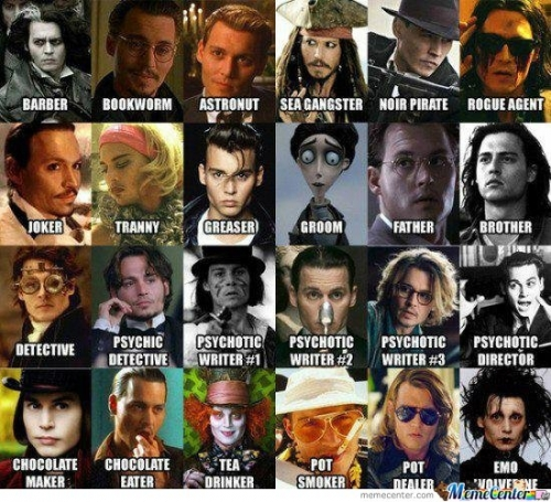 JOHNNY DEPP's AMAZING
