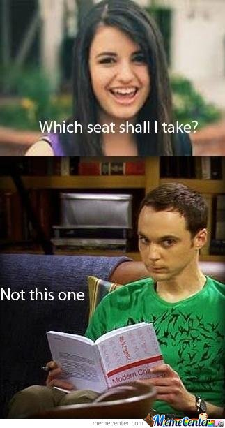 Jessica Black Vs. Sheldon Cooper
