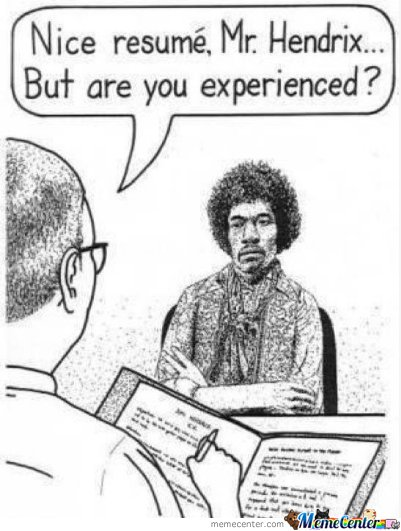 Jimi Hendrix and employment