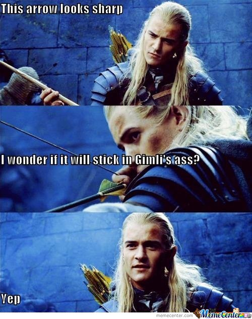 Just Legolas