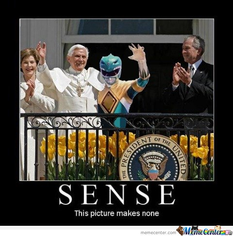 Just Pope And Green Ranger