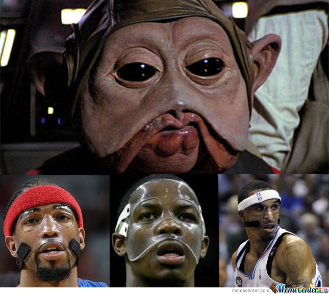 Just watched Return of the Jedi. Now I can't watch basketball without seeing this...