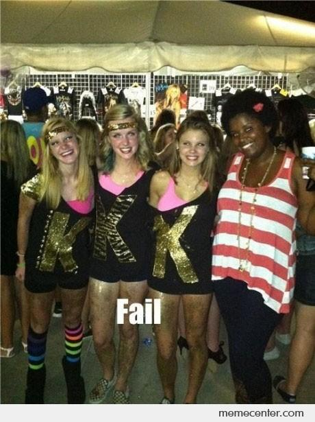 KKK Ke$ha Fan Fail