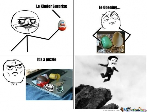 Kinder Surprise Deception