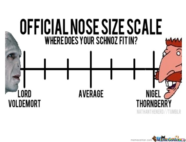 Know your nose size