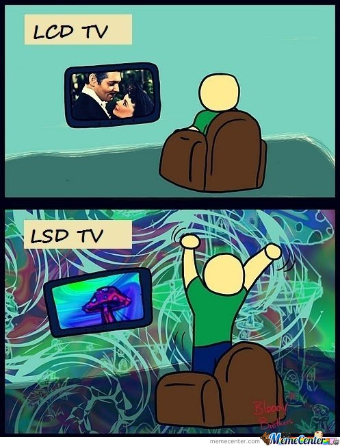 LCD and LSD TV