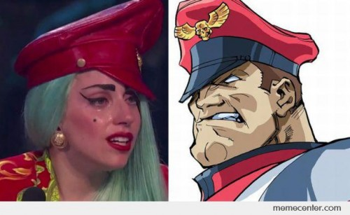 Lady Gaga - M. Bison Look Alike
