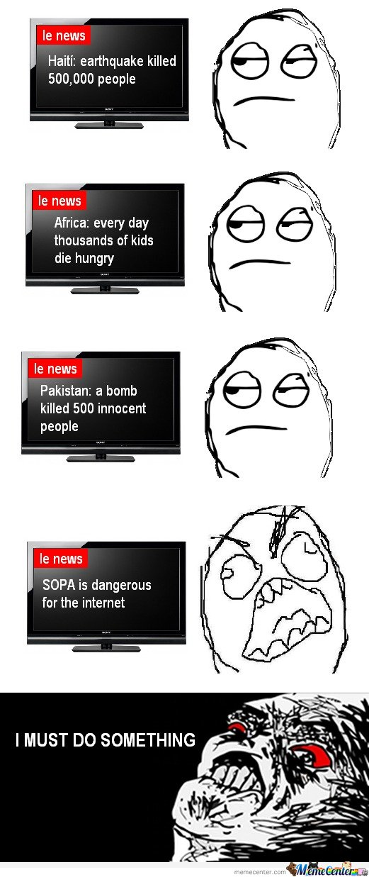 Le me watching news