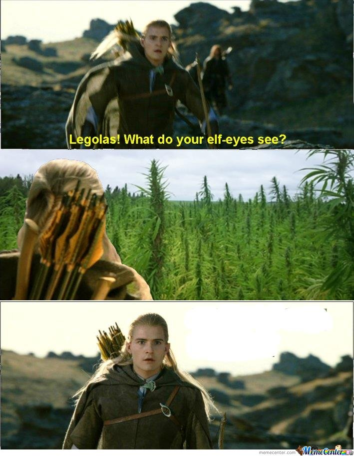 Legolas Sees The Farm