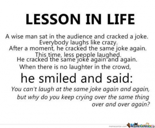 Lesson In Life