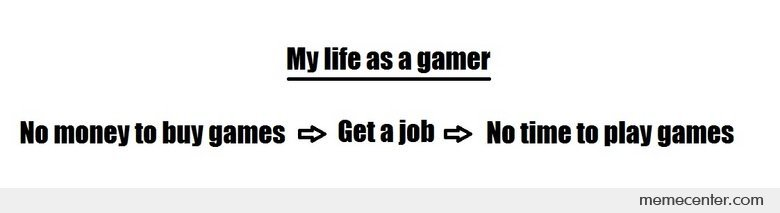 Life As A Gamer