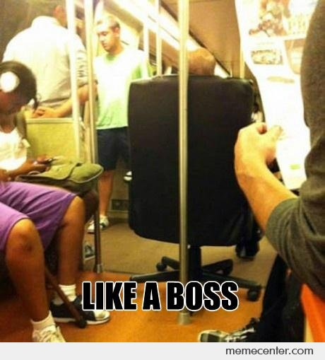 Like a Boss At Subway