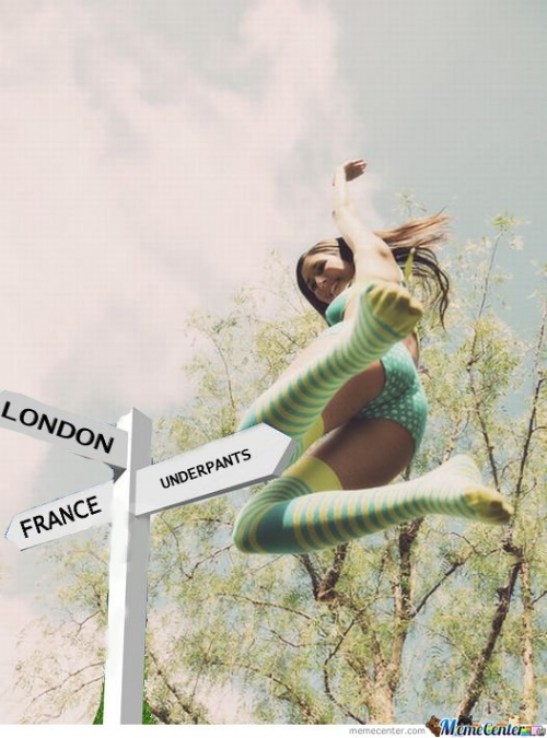 London - France - Underpants