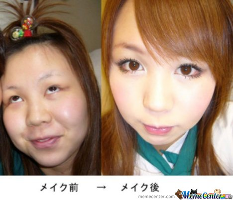 Makeup Lvl : Asian