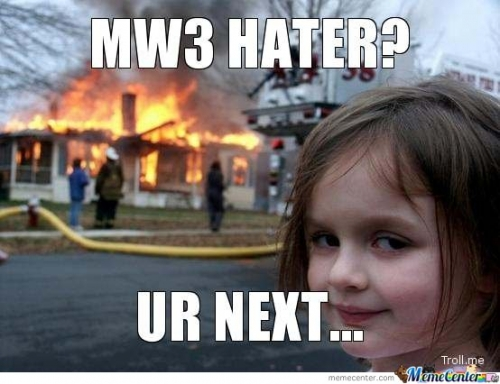 MW3 Haters