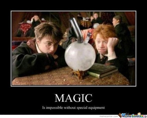 Magic - Is impossible without special equipment